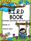 B.I.R.D. Book -Organizational tool for students and teachers