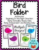 BIRD Folder {Student Organization Folder}