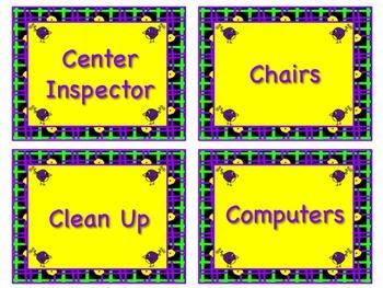 BIRD Theme Job Chart Cards - Great for Classroom Management! VERY TWEET HELPERS!