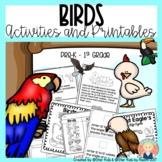 BIRDS CHARACTERISTICS -Life Cycle, Activities and Printabl