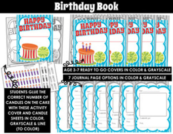 BIRTHDAY BOOK KIT