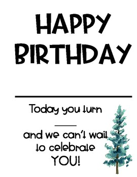 BIRTHDAY BUNDLE: CERTIFICATES AND BIRTHDAY BOOK!!!