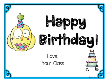 BIRTHDAYS *Editable* Books, Activities, Charts & More!