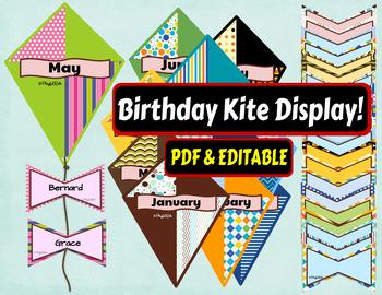 BIRTHDAY KITES DISPLAY