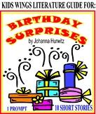 BIRTHDAY SURPRISES! 1 Prompt, 10 Authors, 10 Stories, Chosen by Johanna Hurwitz