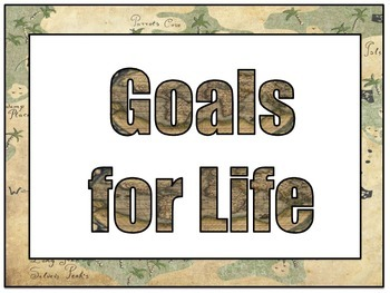 BIST GOALS for Life and School Rules Map Theme