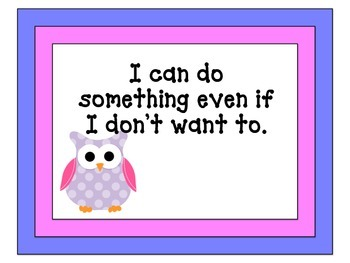 BIST Goals for Life and School Rules-Owl Theme