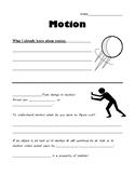 BIll Nye Motion Graphic Organizer