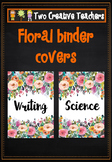 Binder Folder Covers - Floral Theme 2