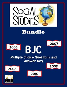BJC Social Studies Multiple Choice Bundle