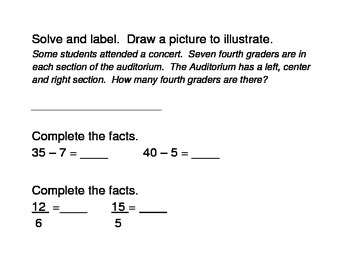 BJU Math, Chapter 4 Review- 4th grade