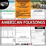 BJU Press Reading 4 (2nd ed): American Folksongs