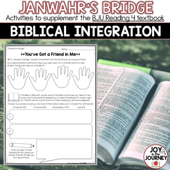 BJU Press Reading 4 (2nd ed): Janwahr's Bridge