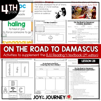 BJU Press Reading 4 (2nd ed): On the Road to Damascus