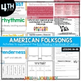 BJU Press Reading 4 (3rd ed): American Folksongs (Lesson 87)