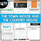 BJU Press Reading 4 (3rd ed): The Town Mouse and the Country Mouse