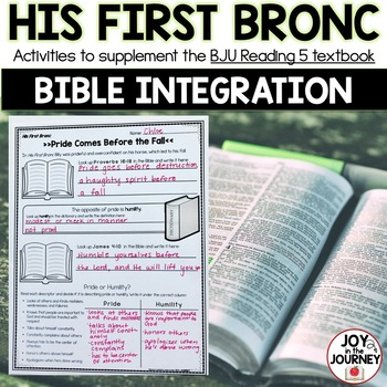 BJU Press Reading 5: His First Bronc