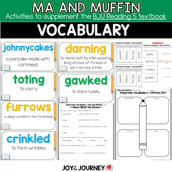 BJU Press Reading 5: Ma and Muffin