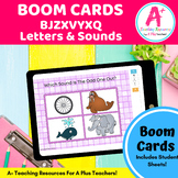 BJZWVYXQ Phonics Letters & Sounds BOOM Cards For Distance