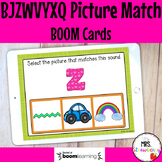 BJZWVYXQ Initial Sound Picture Match Boom Cards Distance Learning