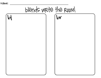BL & BR Blend Write the Room!