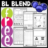FREE L Blends | BL | Activities and Centers | Phonics Game