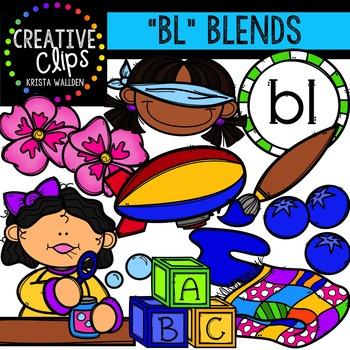 BL Blends {Creative Clips Digital Clipart}
