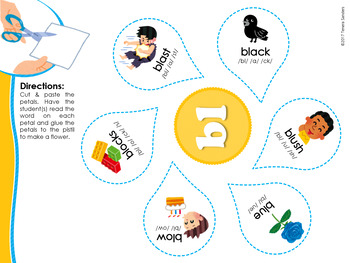 Virtual Classroom - BL Blends Phonics Workbook (LOW PREP)