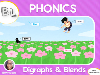 BL Blends Phonics Workbook (LOW PREP)
