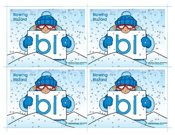 BL (Blowing Blizzard) Blend Buddy Card
