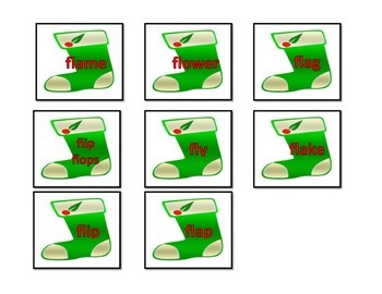 """""""BL"""" & """"FL"""" Blends: File Folder Activity"""