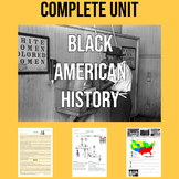 BLACK AMERICAN HISTORY: a complete unit for ESL learners!