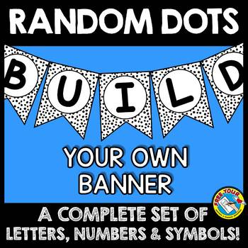 BLACK AND WHITE BANNERS (BUILD YOU OWN) BLACK AND WHITE CLASSROOM DECOR BANNERS