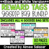 BLACK & WHITE Brag Tags {Goodie Bag BUNDLE}