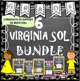 GRADE 6 VIRGINIA SOL BUNDLE TEST PREP  VIRGINIA SOL MATH