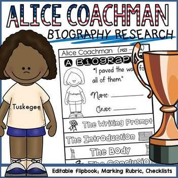 BLACK HISTORY: BIOGRAPHY: ALICIA COACHMAN