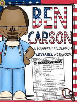 BLACK HISTORY: BIOGRAPHY: BEN CARSON