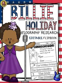 BLACK HISTORY: BIOGRAPHY: BILLIE HOLIDAY