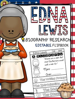 BLACK HISTORY: BIOGRAPHY: EDNA LEWIS