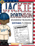 BLACK HISTORY: BIOGRAPHY: JACKIE ROBINSON