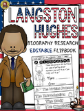 BLACK HISTORY: BIOGRAPHY: LANGSTON HUGHES