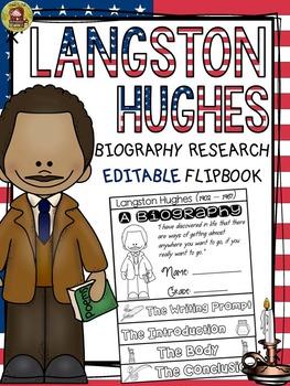 BLACK HISTORY: BIOGRAPHY: LANGSTON HUGHES