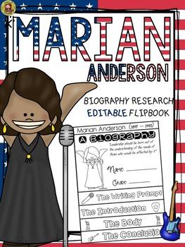 BLACK HISTORY: BIOGRAPHY: MARIAN ANDERSON