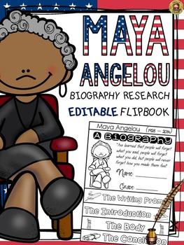 BLACK HISTORY: BIOGRAPHY: MAYA ANGELOU