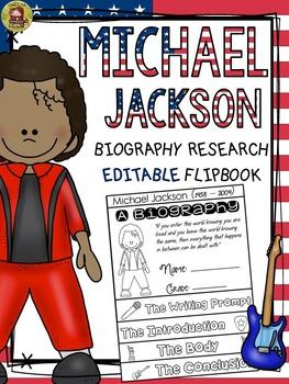 BLACK HISTORY: BIOGRAPHY: MICHAEL JACKSON