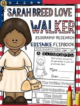 BLACK HISTORY: BIOGRAPHY: SARAH BREEDLOVE WALKER
