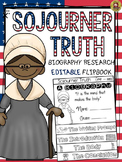 BLACK HISTORY: BIOGRAPHY: SOJOURNER TRUTH