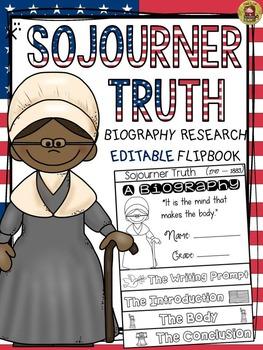 BLACK HISTORY: BIOGRAPHY: SOJOURNER TRUTH