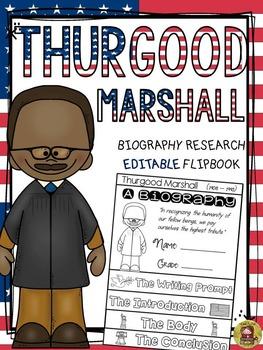 BLACK HISTORY: BIOGRAPHY: THURGOOD MARSHALL