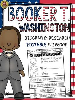 BLACK HISTORY: BIOGRAPHY: BOOKER T. WASHINGTON